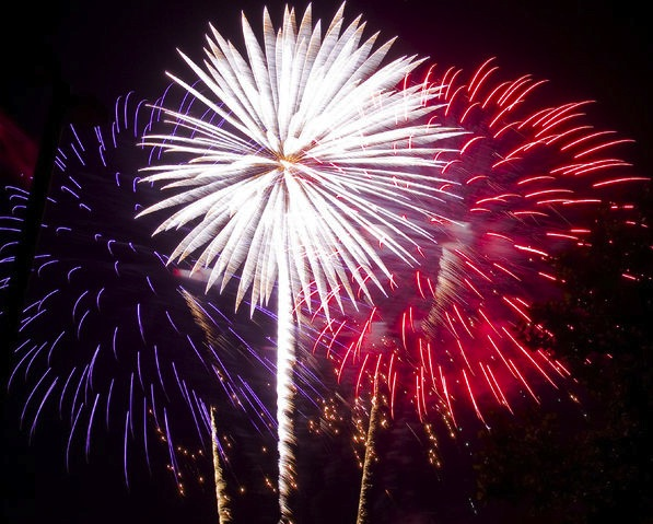 4th july fireworks Emancipate Yourself From Electric Slavery