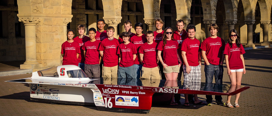 luminos Solar Cars Prepping For Solar Car Race In Australia