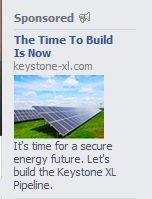 keystone fb Wow, Keystone XL Is Solar Panels!