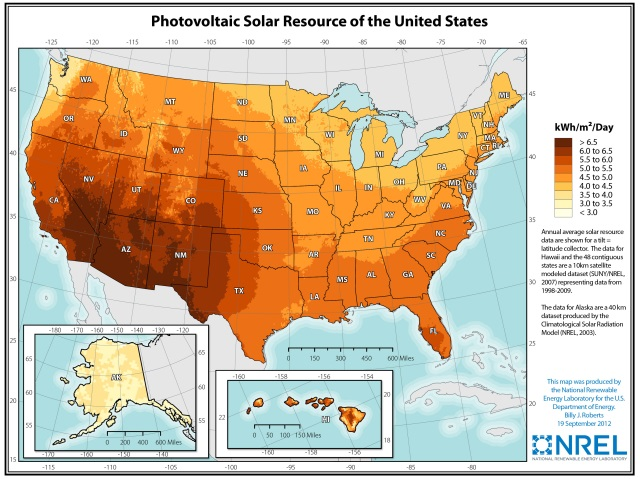 nationalsolarresource How Many Solar Panels Do I Need?