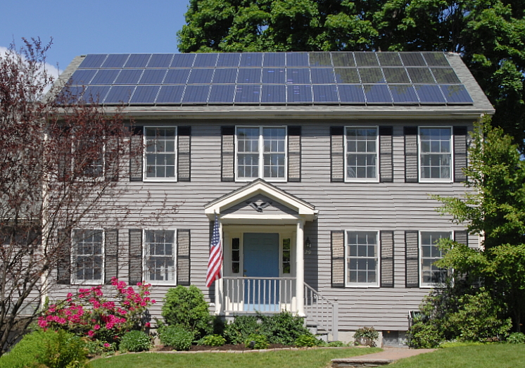 Traditional solar home (wiki commons)