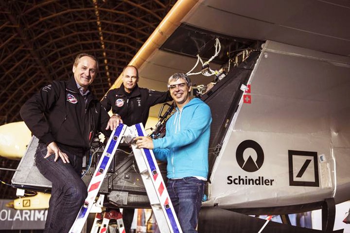 google solar airplane